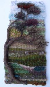 3-D weaving from one of our workshops, mage by Jenni Young