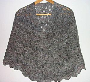 Gotland handspun shawl